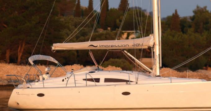 Boat rental Elan Impression 384 in Lávrio on Samboat