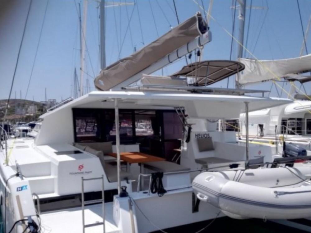 Boat rental Fountaine Pajot Helia 44 in Lefkada on Samboat