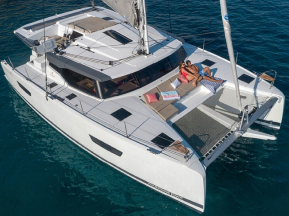 Fountaine Pajot Astrea 42 between personal and professional Laurium