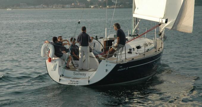 Rental Sailboat in Vigo - Elan Elan Performance 37