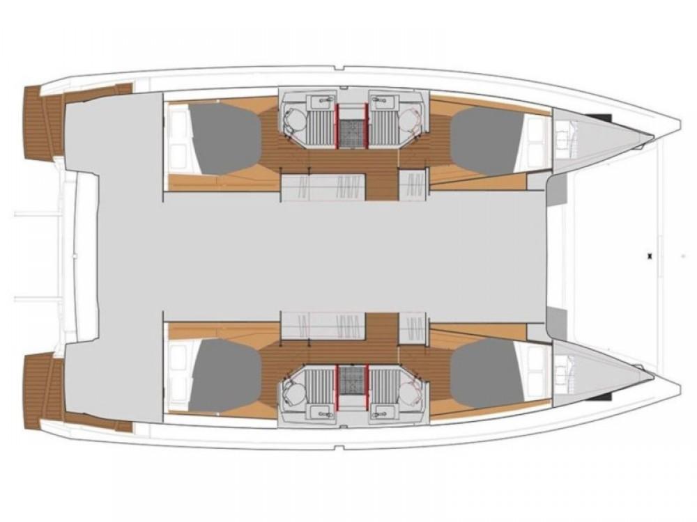 Rental yacht Olympic Marina - Fountaine Pajot Astrea 42 on SamBoat