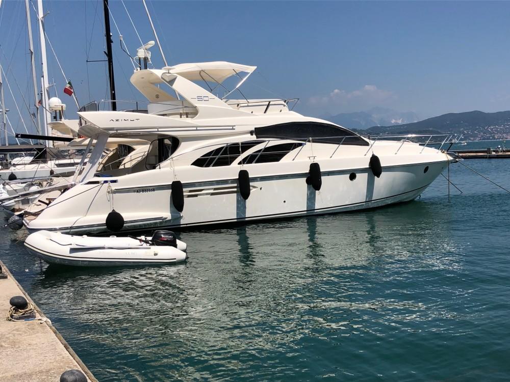 Rental Motorboat in La Spezia - Azimut Azimut 50
