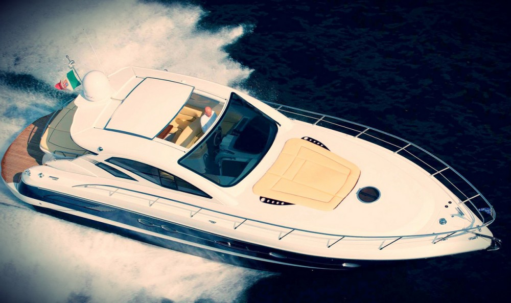 Rental Motor boat Blu with a permit