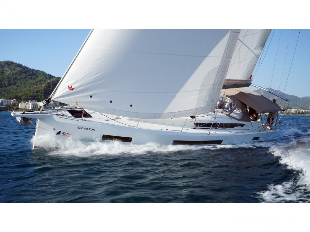 Jeanneau Sun Odyssey 490 between personal and professional Marmaris