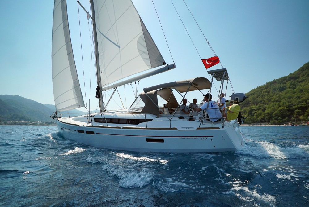 Jeanneau Sun Odyssey 479 between personal and professional Marmaris