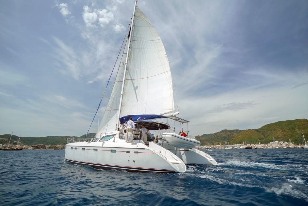 Rental Catamaran Alliaura with a permit