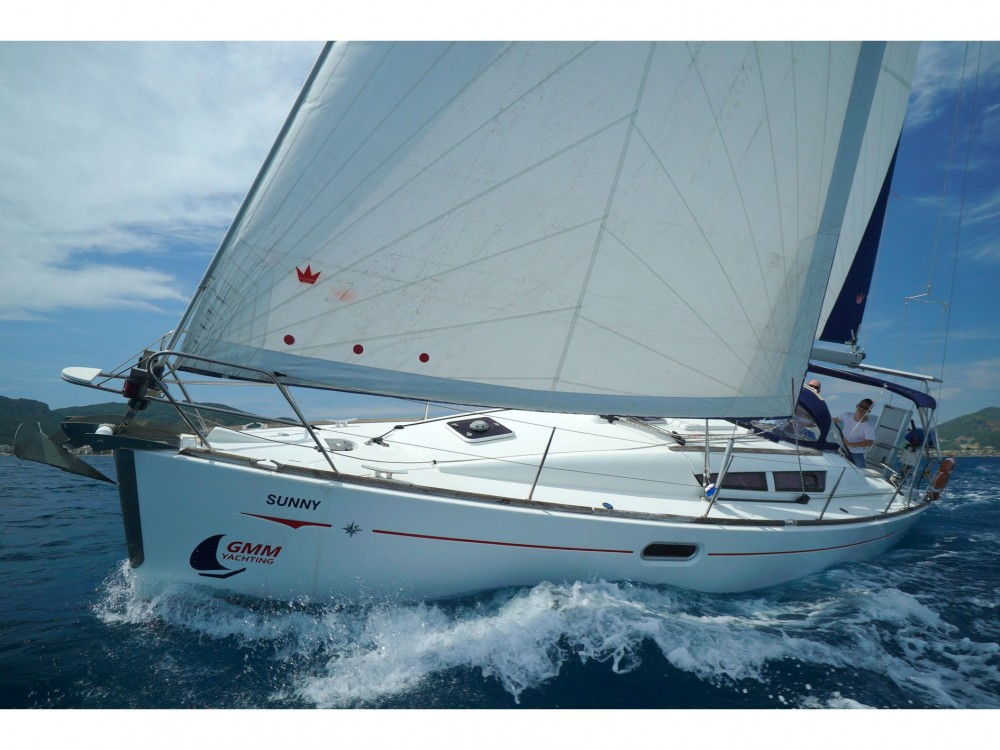 Jeanneau Sun Odyssey 36i between personal and professional Marmaris