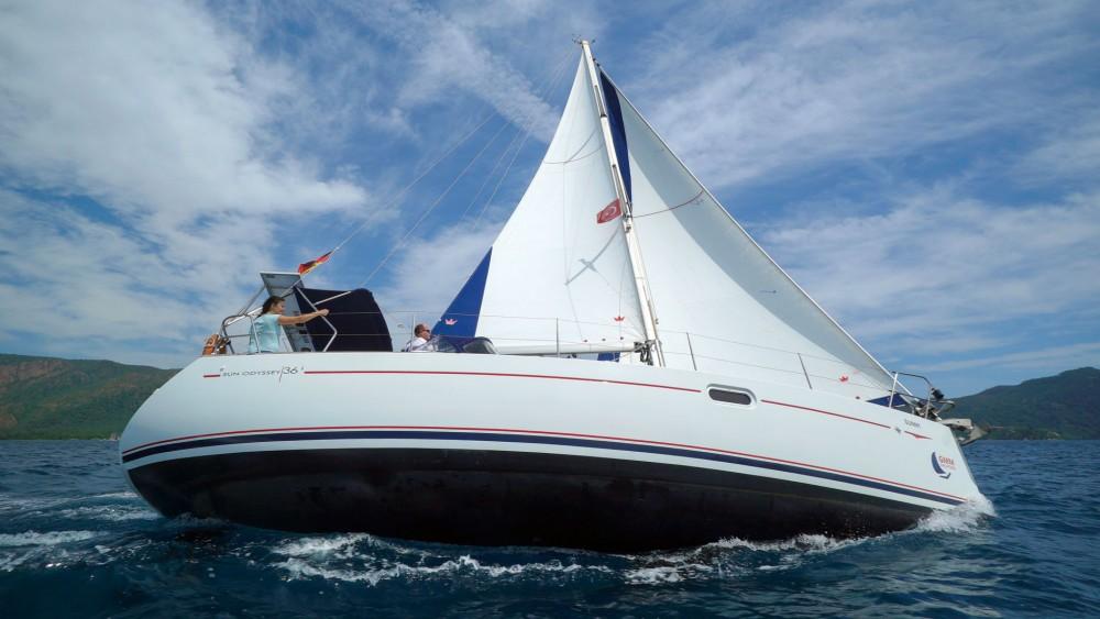 Boat rental Jeanneau Sun Odyssey 36i in Marmaris on Samboat