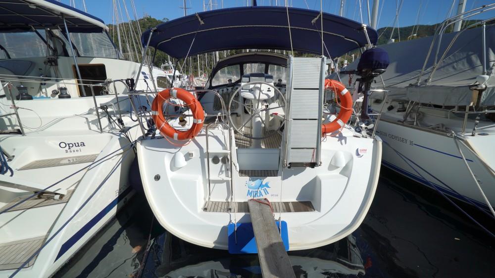 Rent a Jeanneau Sun Odyssey 35 Marmaris