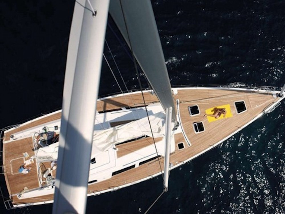 Rental Sailboat in Alimos Marina - Hanse Hanse 540e