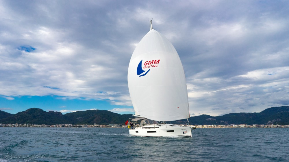 Rental Sailboat in Marmaris - Jeanneau Sun Odyssey 440 - 3 Cabins