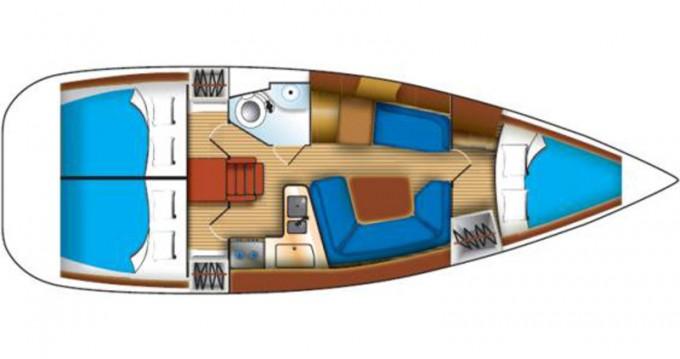 Boat rental Jeanneau Sun Odyssey 35 in Kallithea on Samboat