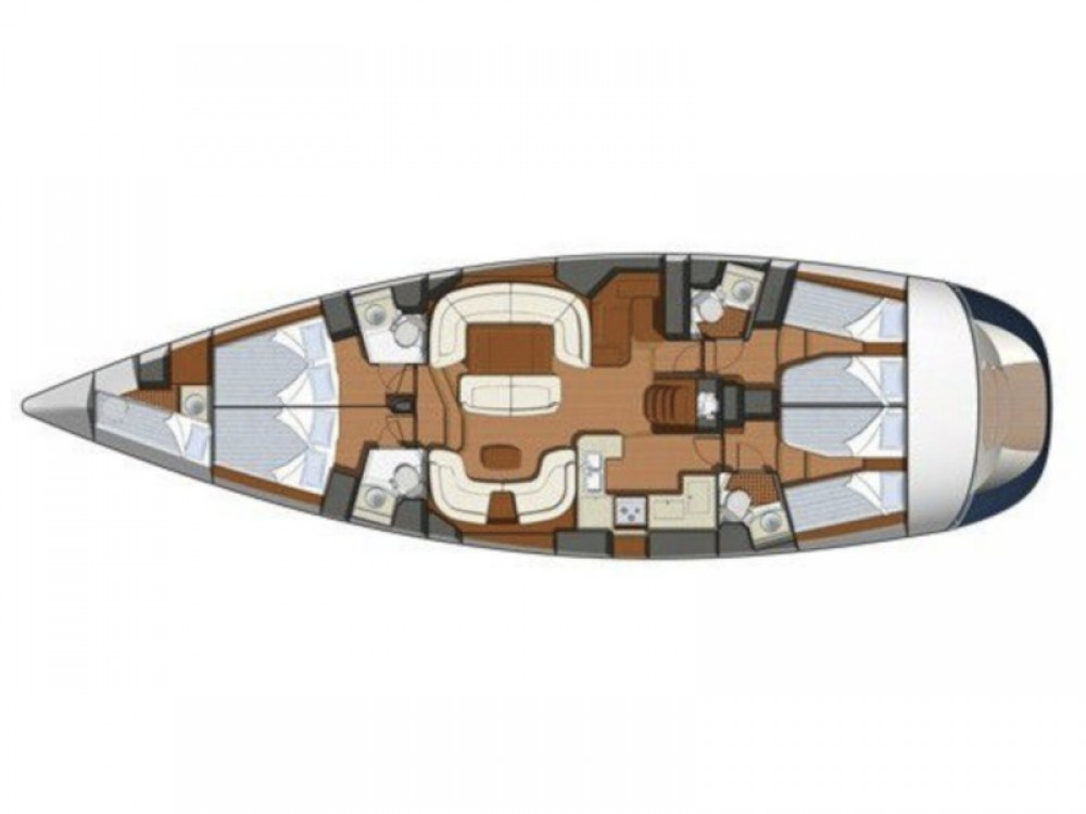 Jeanneau Sun Odyssey 54DS between personal and professional Marina Pirovac