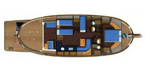Astilleros Menorquin 160 FLY LUX between personal and professional Spain