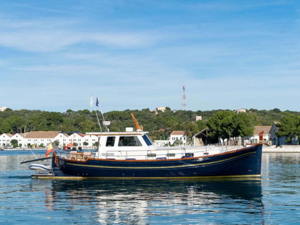 Rental Motor boat Astilleros with a permit