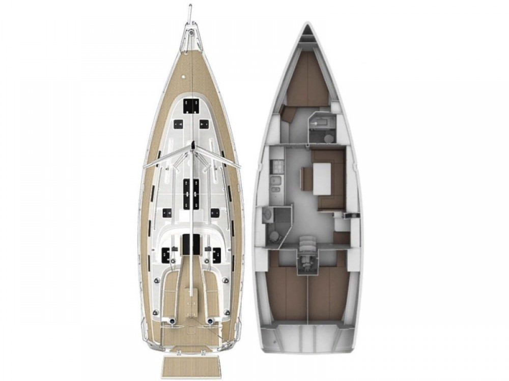 Rental Sailboat in Marina Pirovac - Bavaria Bavaria 40 Cruiser S