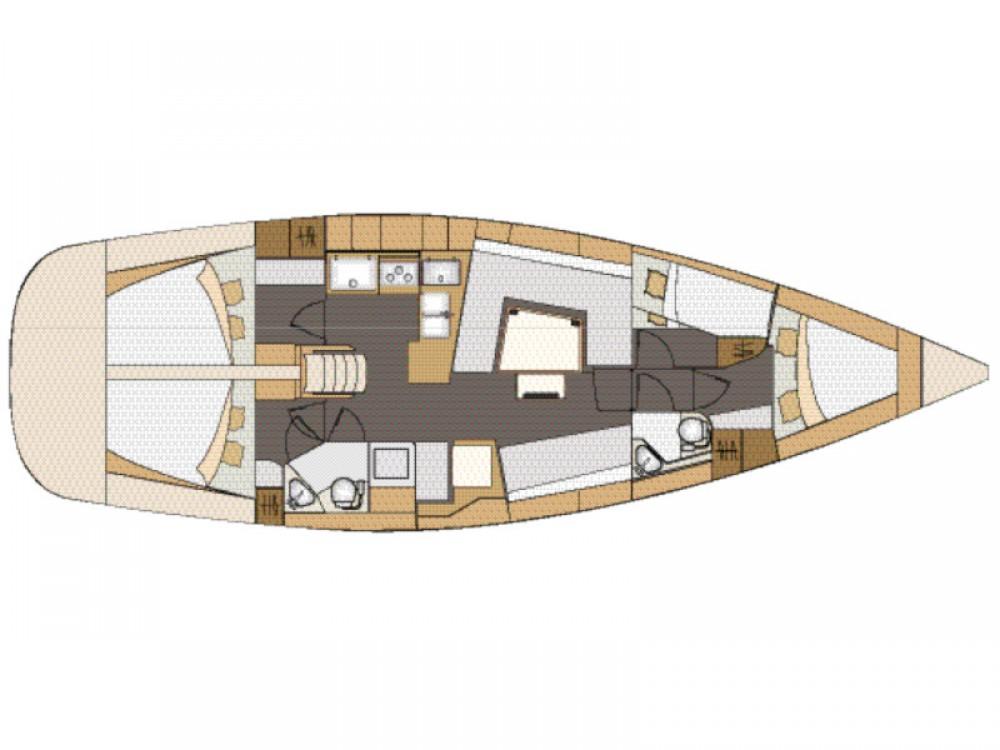 Elan Elan 45 Impression - 4 cabin version between personal and professional Pirovac