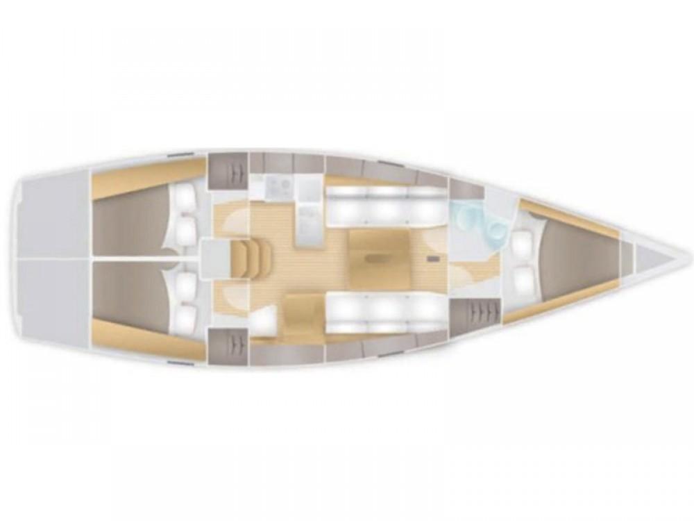 Rental Sailboat in Marina Pirovac - Salona Salona 38