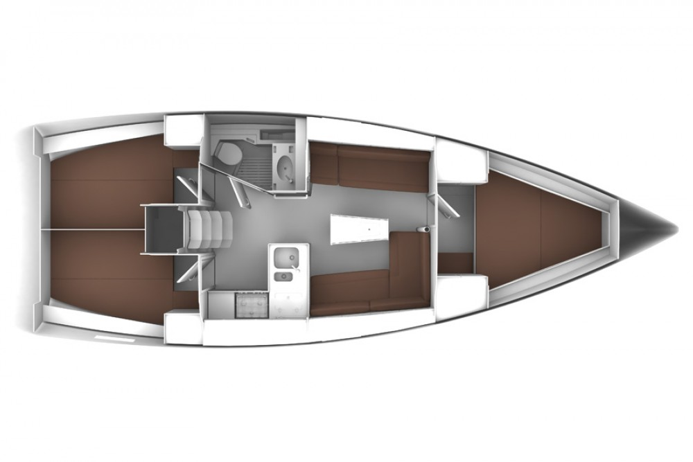 Boat rental Bavaria Bavaria Cruiser 37 in Krk on Samboat