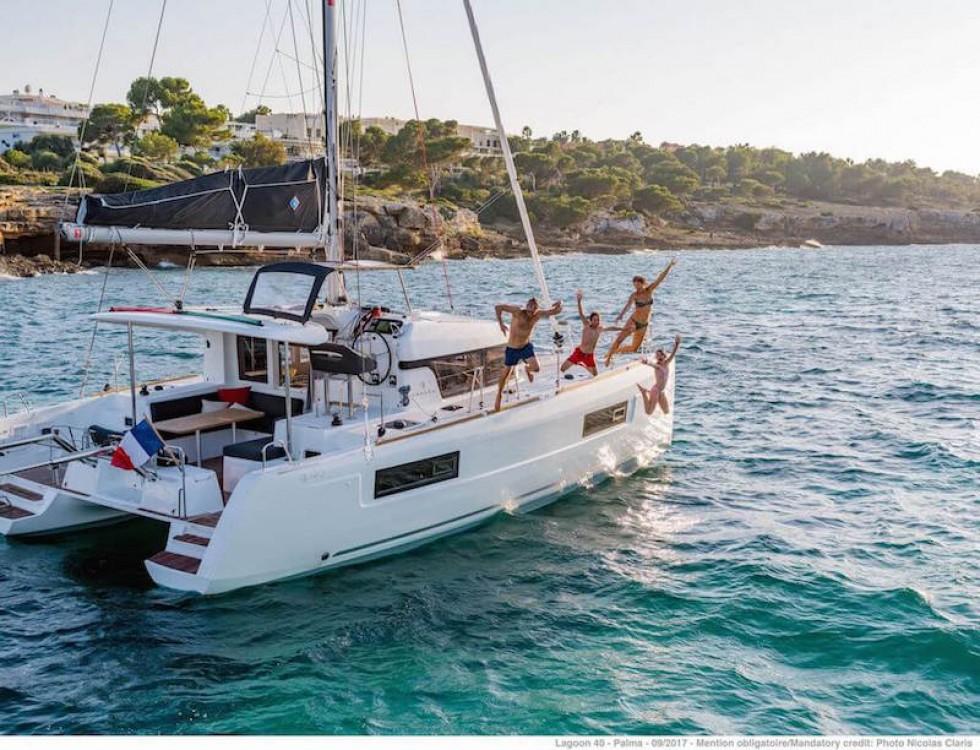 Rental Catamaran in Krk - Lagoon Lagoon 40