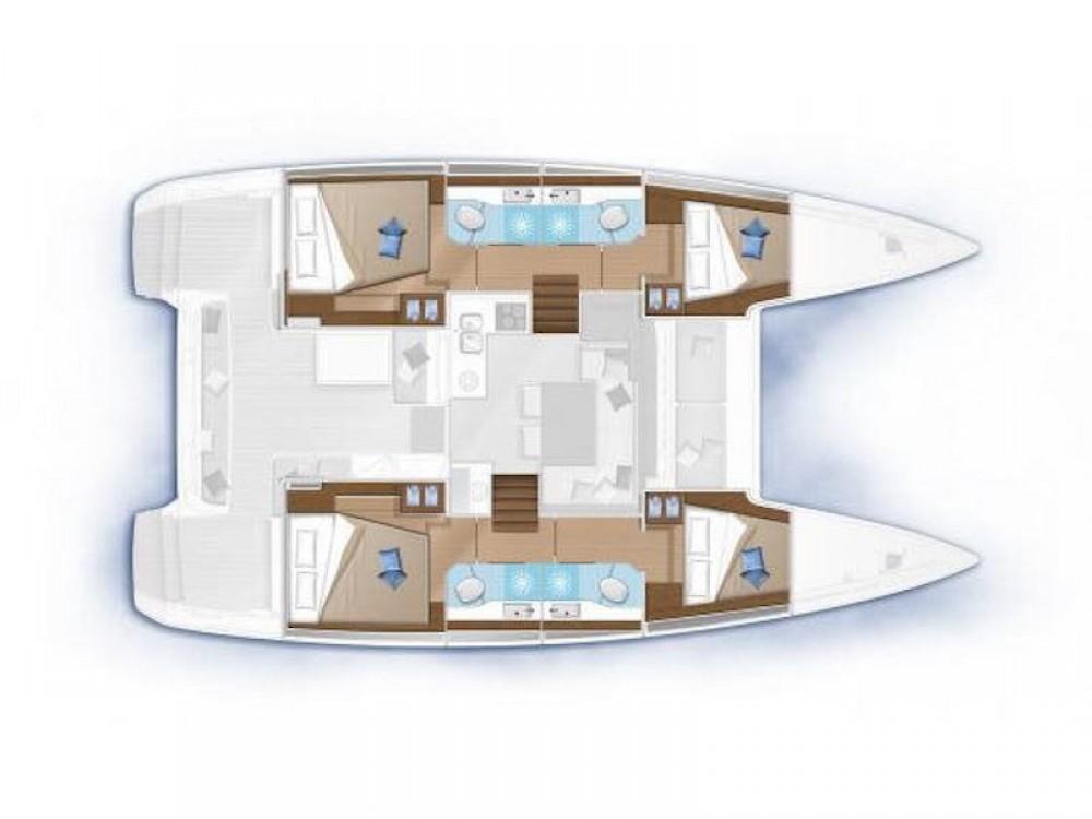 Boat rental Krk cheap Lagoon 40