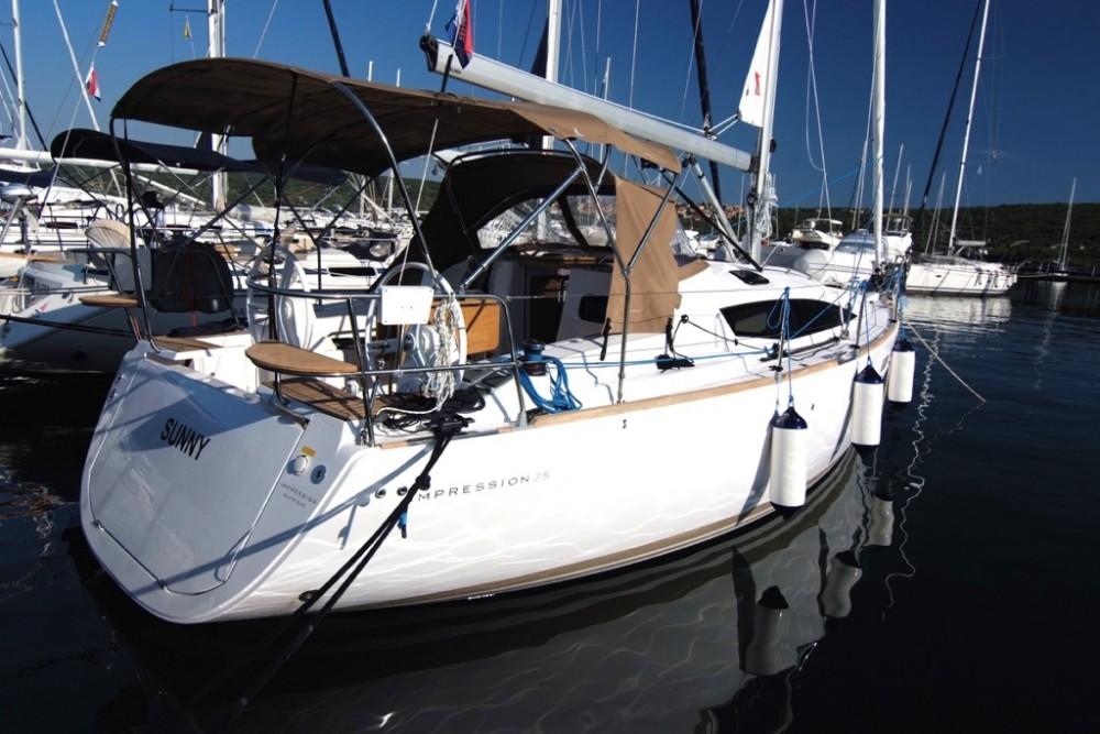 Rental yacht Krk - Elan Elan 35 Impression  on SamBoat