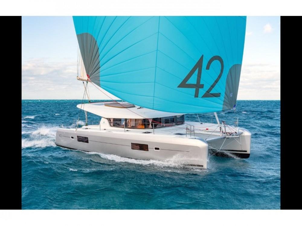 Rental Catamaran in Slano - Lagoon Lagoon 42 2019 - MALA KATE I - skippered