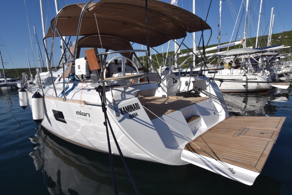 Rental Sailboat in Krk - Elan Elan 45 Impression