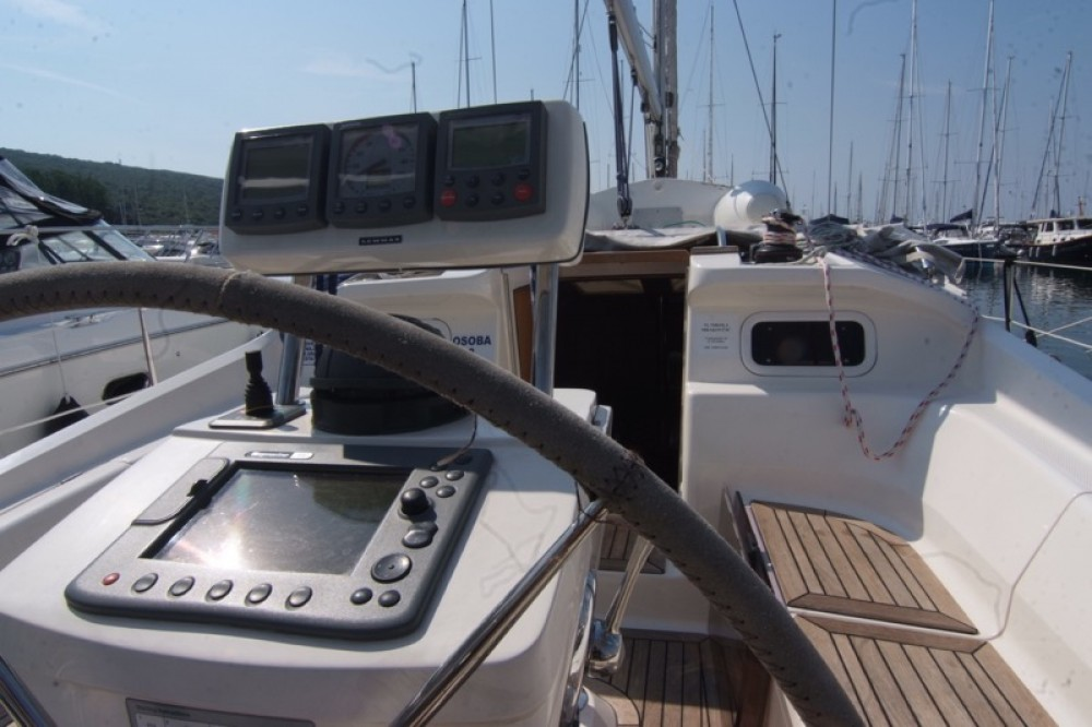 Boat rental Krk cheap Elan 384 Impression