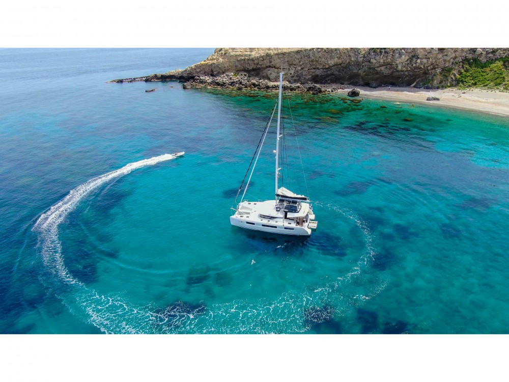 Boat rental Slano cheap Lagoon 50 LUX elegance (2019) equipped with airconditioning (saloon + cabins), generator, watermaker, ice maker, dishwasher, washer/dryer, 2 SUP, snorkelling equipment