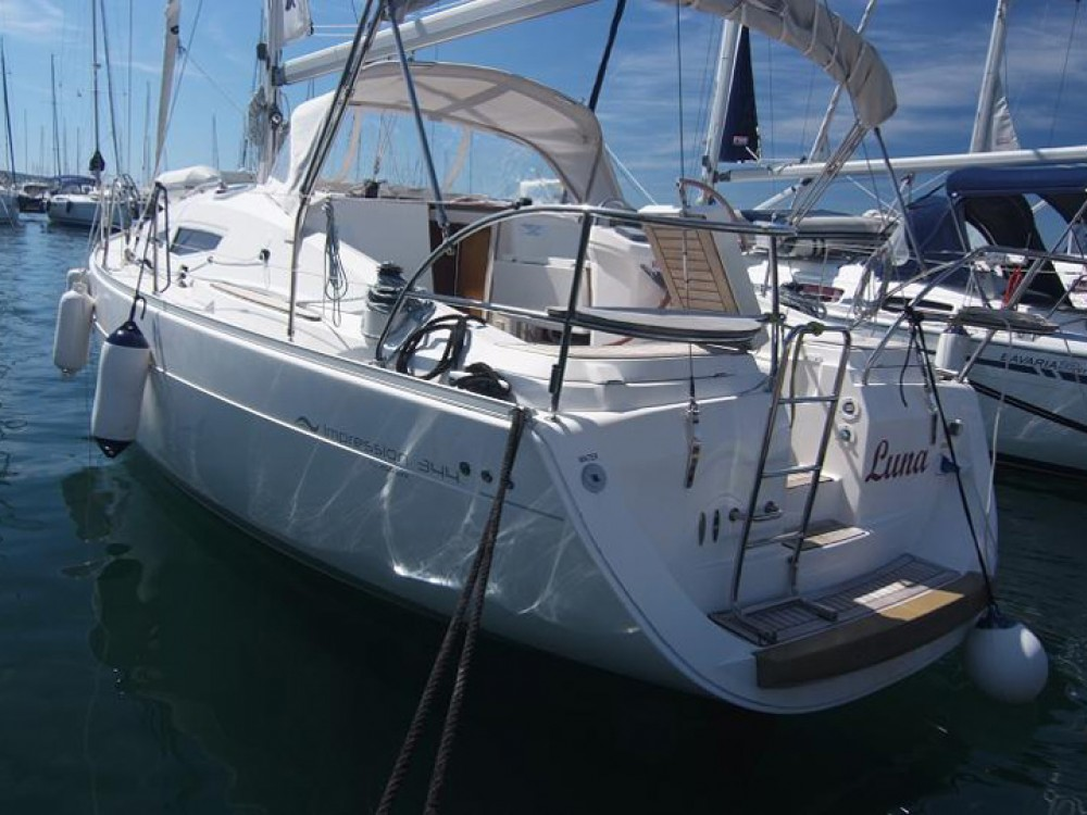 Hire Sailboat with or without skipper Elan Krk