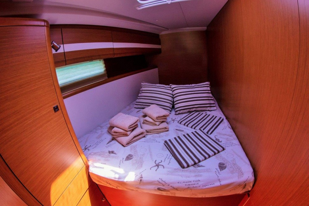 Boat rental Split cheap Jeanneau 53 (2013) equipped with roll mainsail, bow thruster, generator, A/C (saloon), TV/DVD
