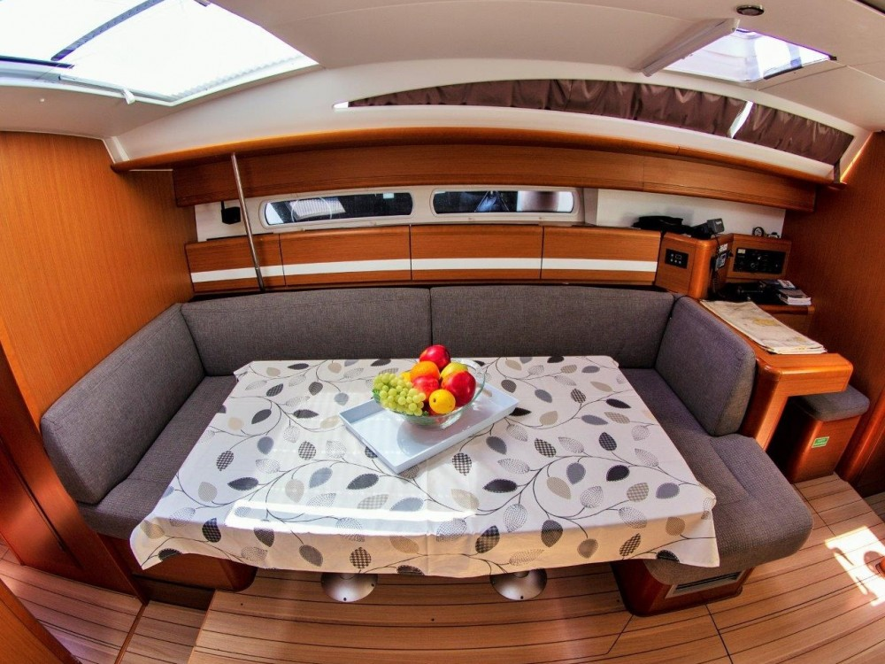 Rental yacht Split - Jeanneau Jeanneau 53 (2013) equipped with roll mainsail, bow thruster, generator, A/C (saloon), TV/DVD on SamBoat