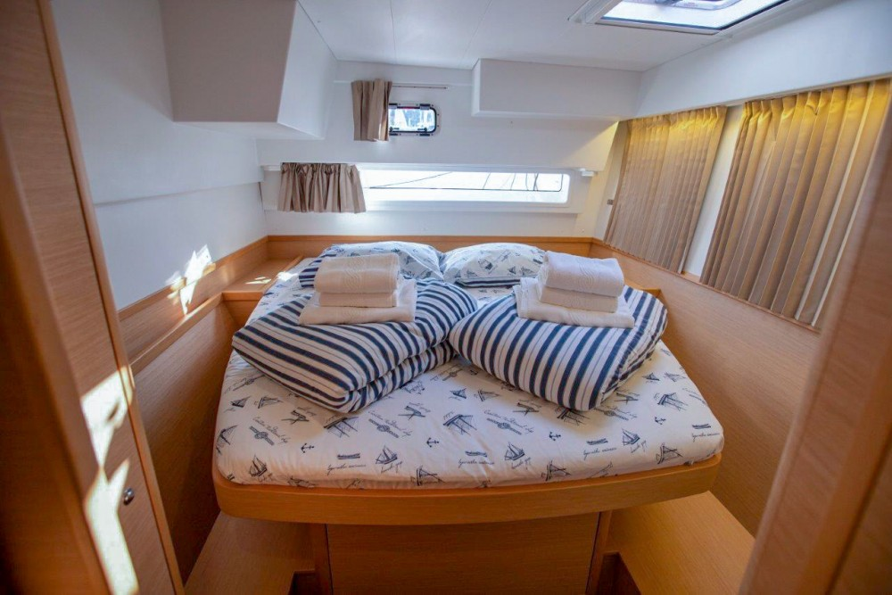 Rental yacht Slano - Lagoon Lagoon 42 (2018) equipped with generator, A/C (saloon+cabins), water maker, bow thruster on SamBoat