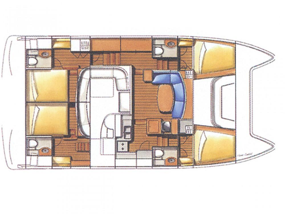 Boat rental Split cheap Lagoon power 44 (2006) - 2020 total refit