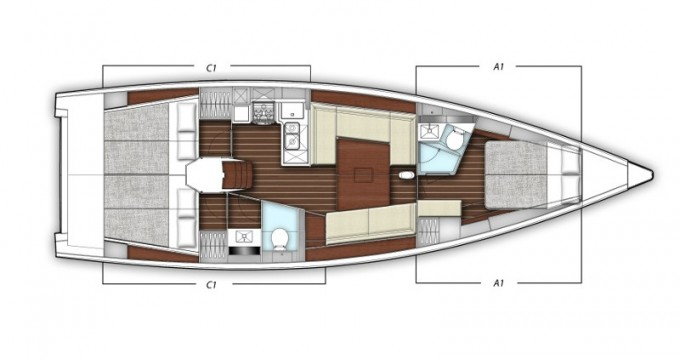 X-Yachts X-Yacht 4-3 between personal and professional