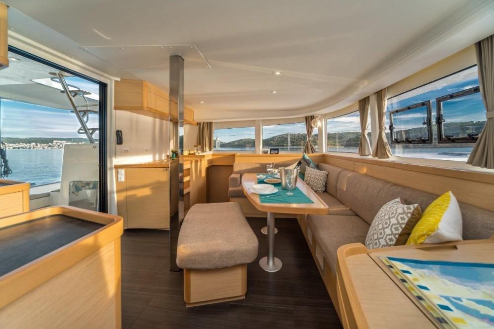 Rental Catamaran in Split - Lagoon Lagoon 42 (2017) equipped with generator, A/C (saloon+cabins)