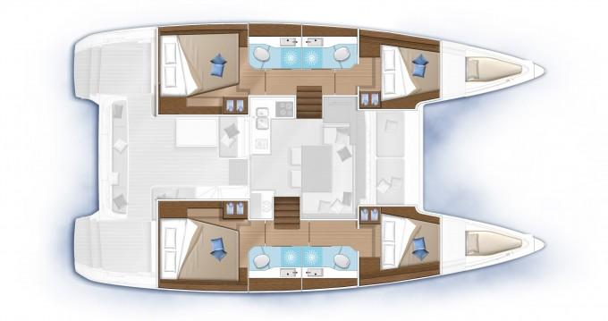 Rental yacht Slano - Lagoon Lagoon 40 on SamBoat