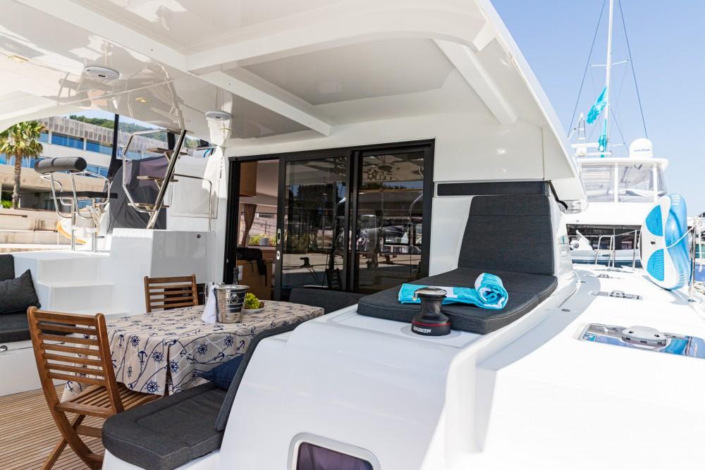 Boat rental Slano cheap Lagoon 42 (2019) MALA KATE I equipped with generator, A/C (saloon)
