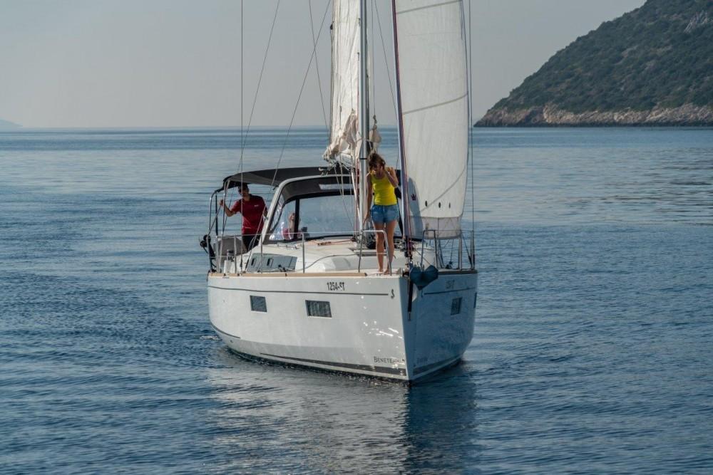 Boat rental Split cheap Oceanis 38.1 (2017)