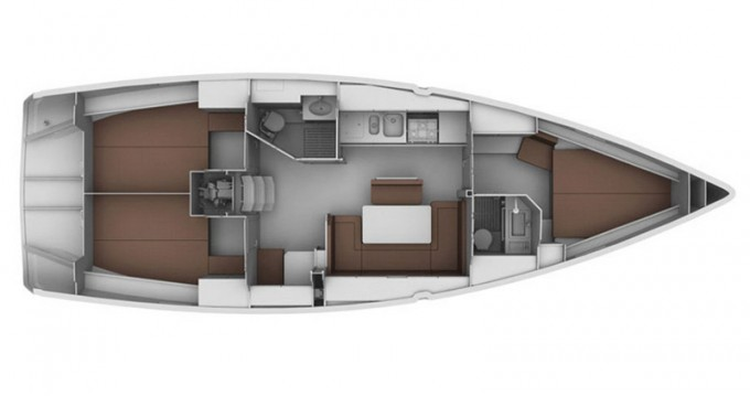Rental yacht Lefkas Marina - Bavaria Bavaria 40 Cruiser on SamBoat
