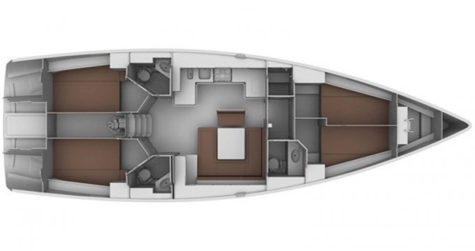 Rental yacht Lefkas Marina - Bavaria Bavaria 45 Cruiser on SamBoat