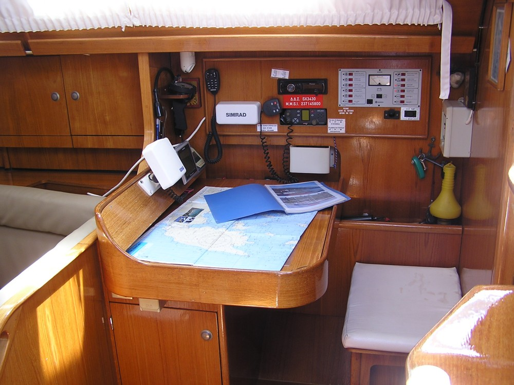 Jeanneau Sun Odyssey 37.1 between personal and professional Lefkada