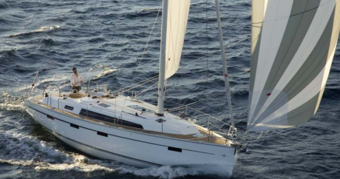 Bavaria Cruiser 41 between personal and professional Lefkas Marina