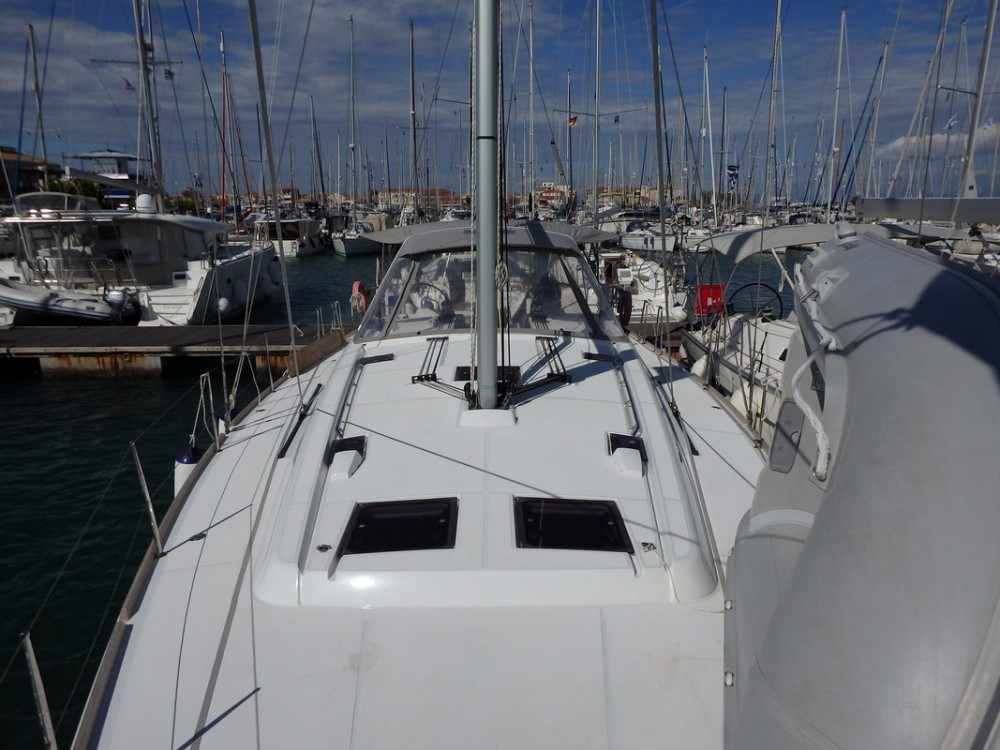 Boat rental Lefkada cheap Oceanis 48