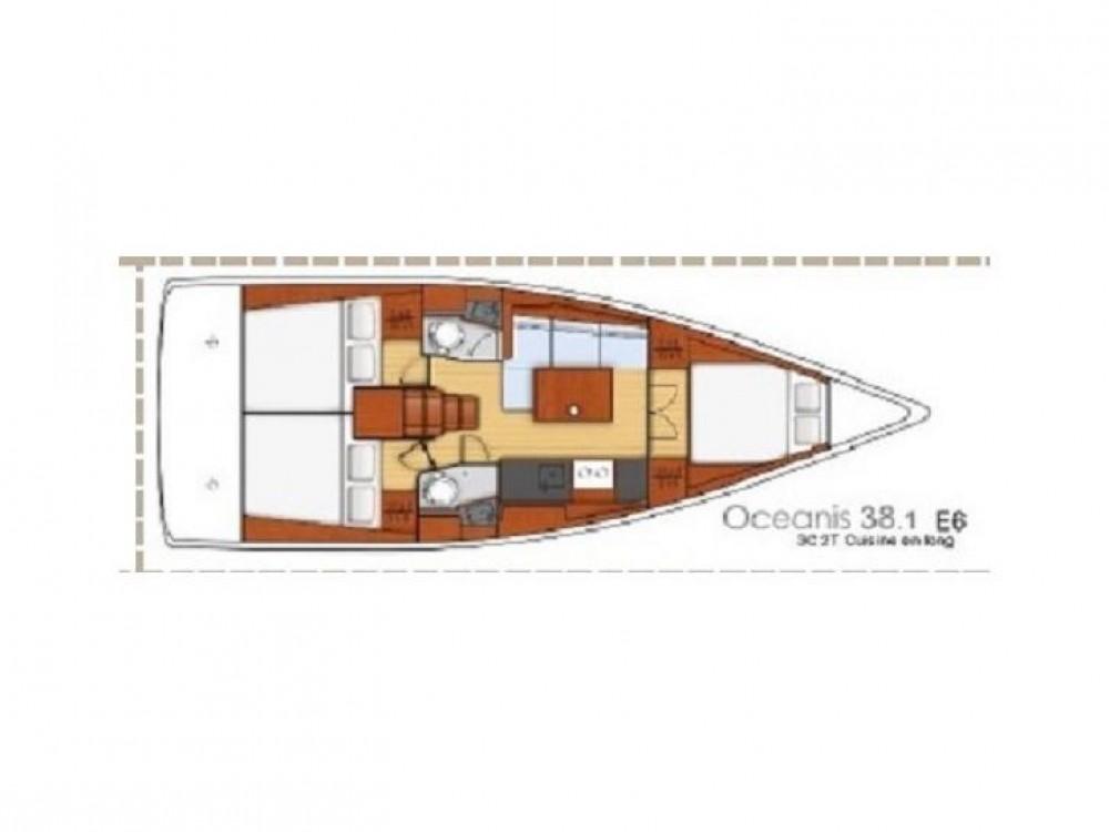 Rental Sailboat in Lefkada - Bénéteau Oceanis 38.1