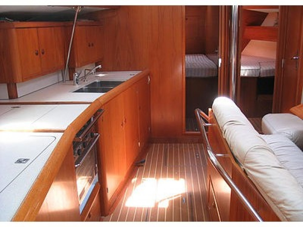 Boat rental Jeanneau Sun Odyssey 45.2 in  on Samboat