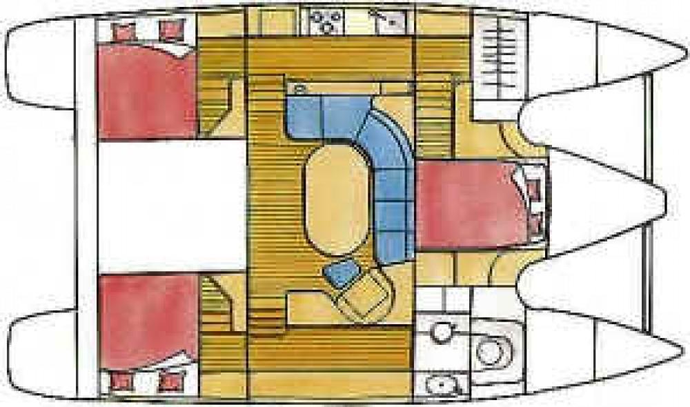 Rental yacht  - Alliaura Privilege 37 on SamBoat