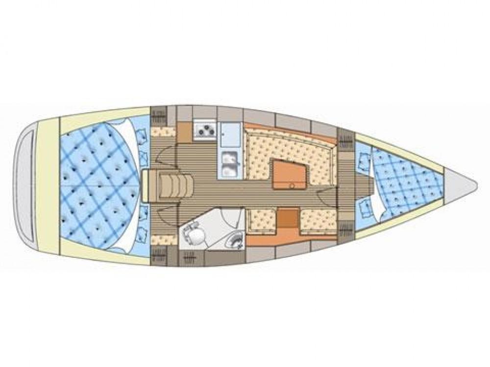 Boat rental Murter cheap Elan 344 Impression