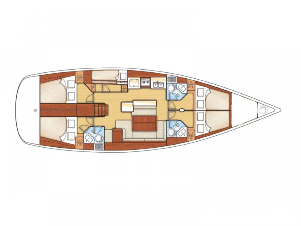 Bénéteau Oceanis 50 Family between personal and professional Murter